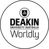 Deakin's new logo...