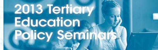 Tertiary ed seminars 2013