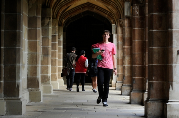 New higher education minister Kim Carr is considering a rethink on the opening up of university places. AAP/Julian Smith
