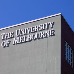 Uni Melb sign