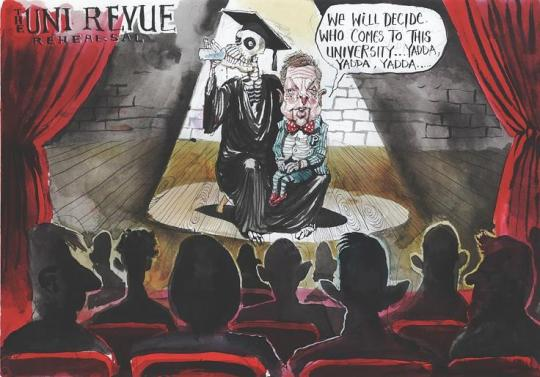 The incomparable David Rowe makes a point in the Australian Financial Review