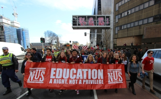AUSTRALIA - EDUCATION - PROTEST
