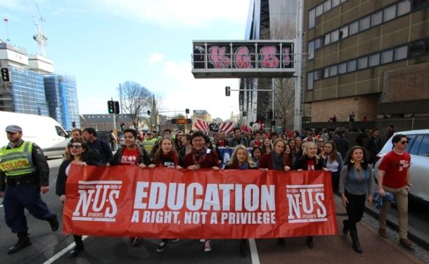 AUSTRALIA - EDUCATION - PROTEST