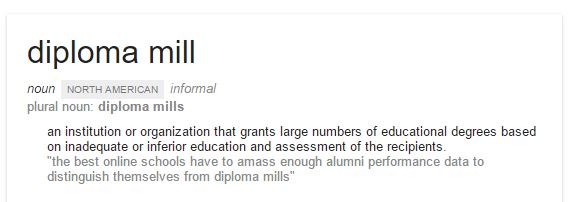 Diploma Mill 2