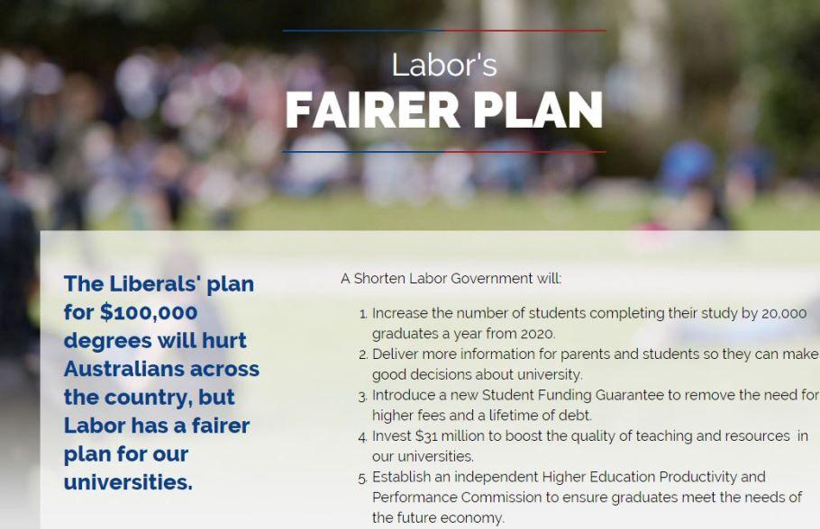 Labor's Plan